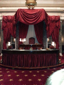 Old Supreme Court Room in the Capitol Building