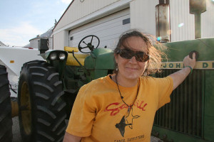 Molly and Tractor